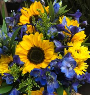 Summer Sun & Sky Designer Choice in Lewiston, ME | BLAIS FLOWERS & GARDEN CENTER