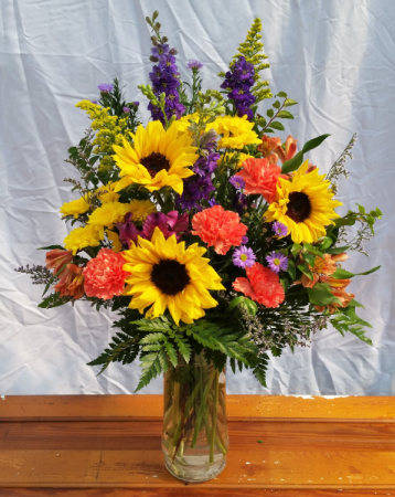 Summer Sun Vase Arrangement
