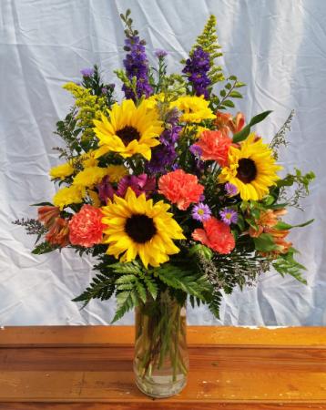 Summer Sun Vase Arrangement