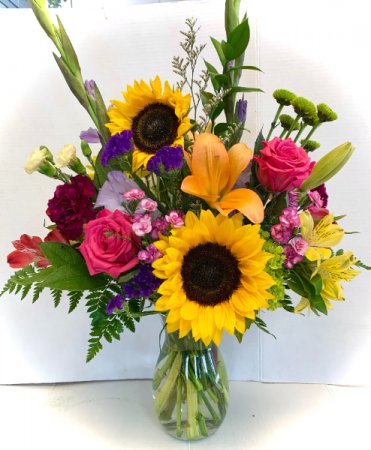 Summer Sunflower Custom Made by Petal Pusher