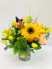 Summer Sunflower Floral Arrangement