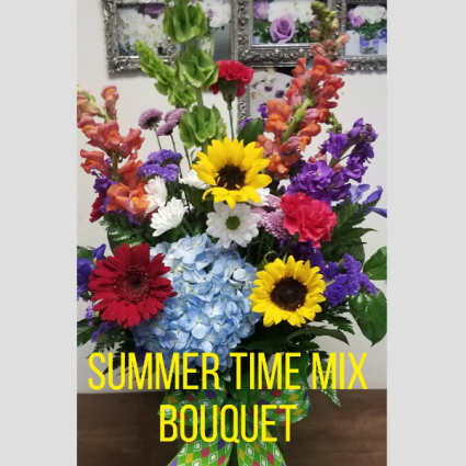 Summer Time Mix Bouquet Designer's Choice Bouquet