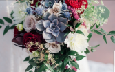 Summer Time Succulent Bridal Bouquet
