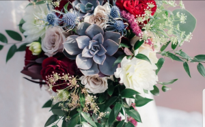 Summer Time Succulent Bridal Bouquet   in Fort Collins, CO | D'ee Angelic Rose Florist
