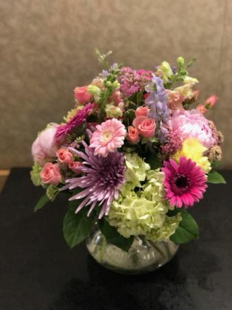 Summer Treasures  Vase Arrangement