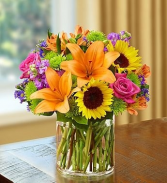 SUMMER VIBES Vase arrangement