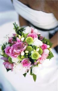 T & S Wedding Bridal Bouquet