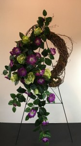 Summer Wreath Silk Arrangments