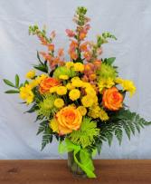 Summer Zest Vase Arrangement
