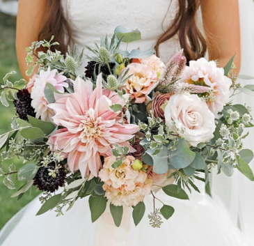 Summers Blush Bridal Bouquet