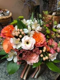 Summers Bounty Vase or Basket