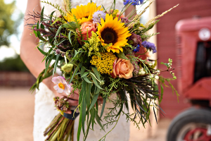 Summers Inspiration Handtied Bridal Bouquet in Greeley, CO | ERICKSON'S FLOWERS