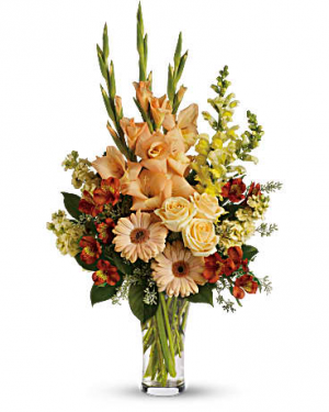Summer's Light Sympathy Arrangement in Croton On Hudson, NY | Cooke's Little Shoppe Of Flowers
