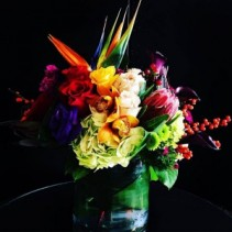 Summers  serenade of bright flowers