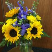 Summertime and the livin's easy! Vase Arrangement
