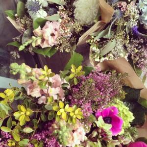 Seasonal Gathered  Handtied Bouquet