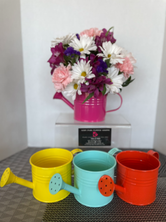 Summertime Pitcher Arrangement **Colors May Vary**