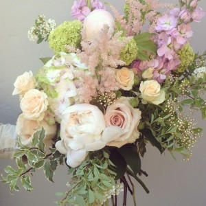 Plush Petals Handtied Bouquet