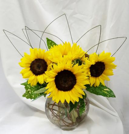 Sun and Moon Fresh Floral Design