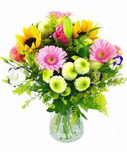 Sun Burst Floral Arrangement