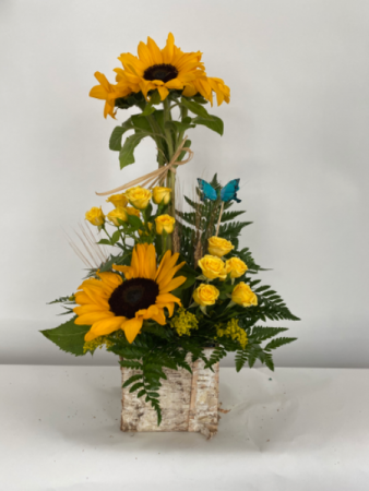 Sun flower bouquet  Floral arrangement