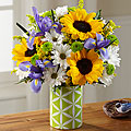 Sun Flower Sweetness Vase Arrangement