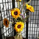 Sun Kiss Sunflowers
