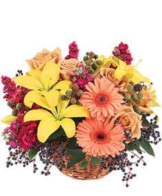 Sun-Kissed Country Floral Arrangement