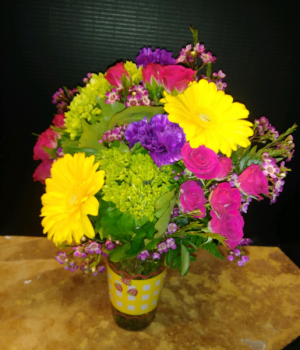 Sun Shiny Day Fresh Mix Floral Arrangement in Conway, AR | CONWAY FLORIST & GIFTS