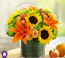 Sunburst Bouquet Arrangement