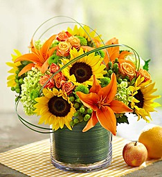 Sunburst Bouquet Vibrant & Whimsical, in a Modern Sort of Way