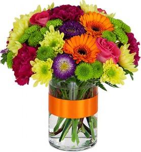 SUNBURST Vase Arrangement in Port Stanley, ON | FLOWERS BY ROSITA