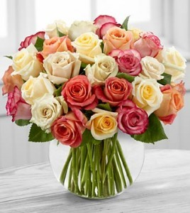 24 Mix Rose Bouquet