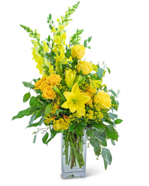 Sundazed Flower Arrangement in Nevada, IA | Flower Bed