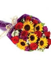 SunFest Wrapped Bouquet