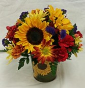 Sunflower Abundance Bouquet