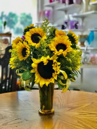 Sunflower Arrangement Floral Arrangement