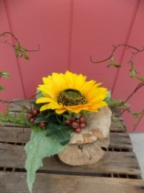 Sunflower Beauty A Permanent Arrangement with Sunflowers