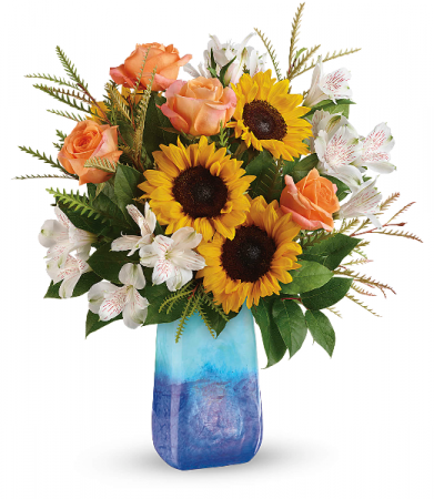 Sunflower Beauty Bouquet HEV575A