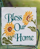 Sunflower Bless Our Home