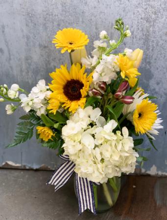 Sunflower Bliss  In Between