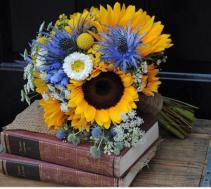 Sunflower Bouquet Hand Tied
