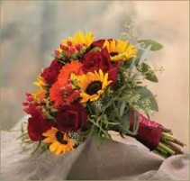 SUNFLOWER BOUQUET HAND TIED BOUQUET