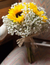Sunflower Bouquet Perfect for Bridesmaids
