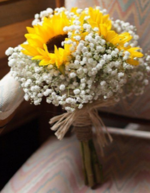 Sunflower Bouquet Perfect for Bridesmaids in Canon City, CO   TOUCH OF LOVE FLORIST AND WEDDINGS