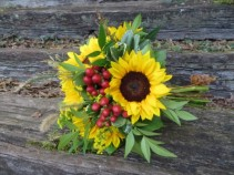 Sunflower Bridal Bouquet Fresh Bouquet