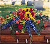 Sunflower Casket spray casket spray
