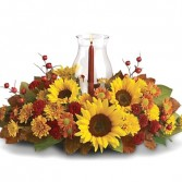 Sunflower Center Piece