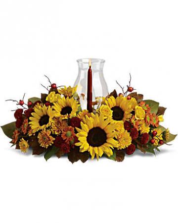 Sunflower Centerpiece Fall Centerpiece
