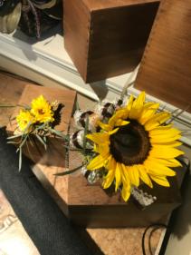 Sunflower  Corsage